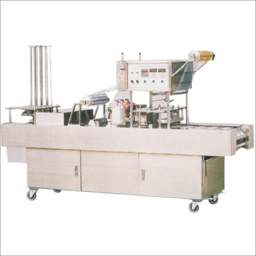 Water Glass Filling & Sealing Machine