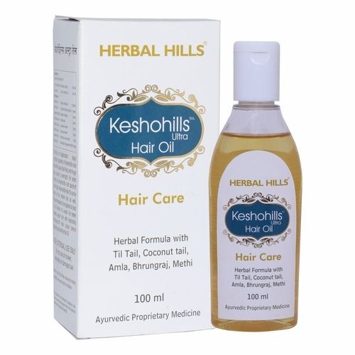 Herbal Hair growth oil - Keshohills Hair oil 100ml