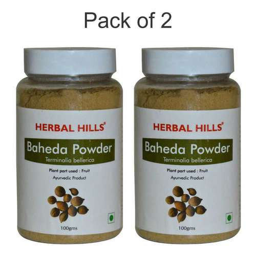 Ayurvedic Baheda Powder 100gm for Healthy Digestion (Pack of 2)