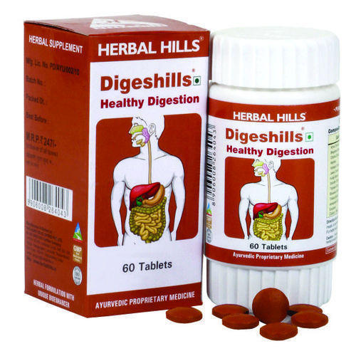 Herbal Digestive Product - Healthy Digestion Tablets