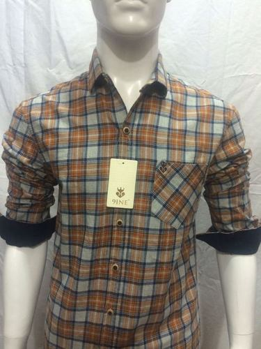 Popular Brand Checks Shirt - 122/2