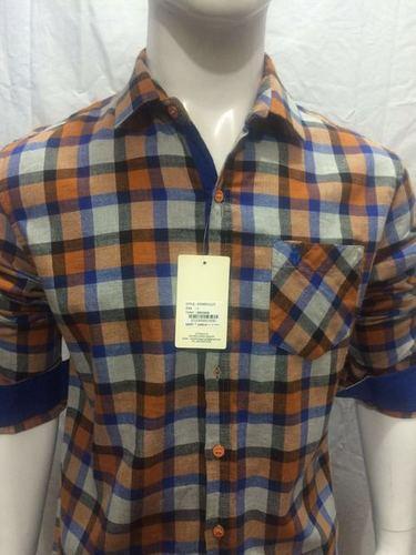 Mens Grand Look Checks Shirt - 111/2