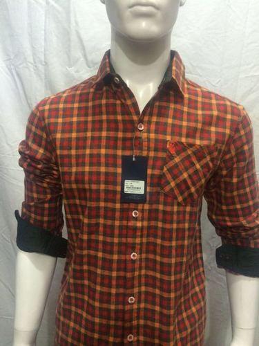 Checks Shirt for Men - 120/1
