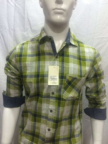 Mens Checks Shirt ( 9INE BRAND) - 115/2