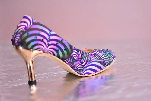 Ladies Digital Printed Footwear