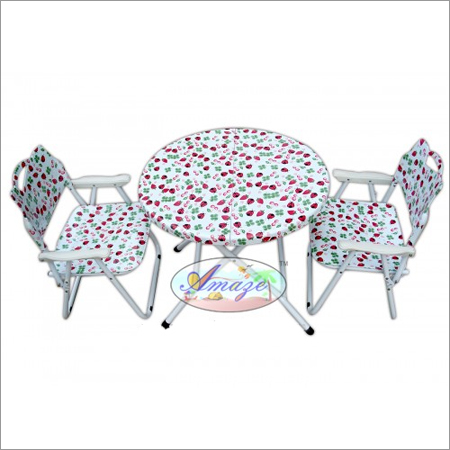 Folding Baby Table - Chair Set