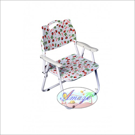 Folding Baby Chair - P.P.Printed (With Arm Rest)-