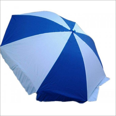 Garden Farm house Beach Camping Sunshade Patio Umbrella-(7')- Blue White