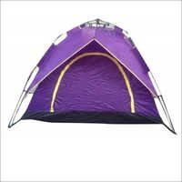 Camping Tent Automatic 3 People Purple