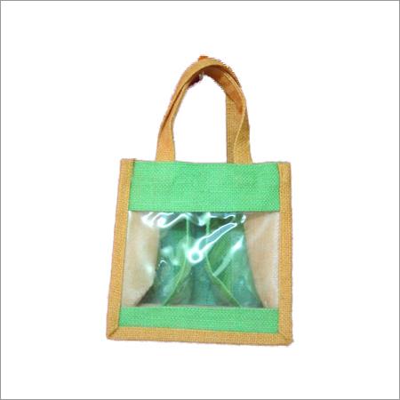 Jute Window Bags