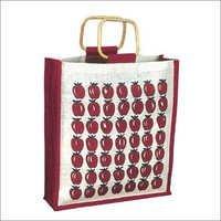 Strawberry Printed Jute Bags in Kolkata