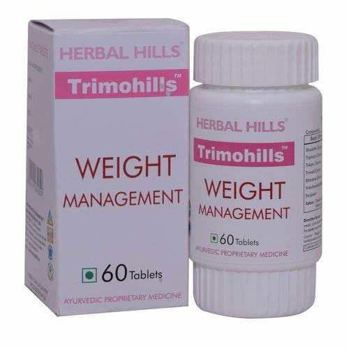 Ayurvedic Medicine for Weight Lloss  - Slimming Tablet - Trimohills 60 Tablets