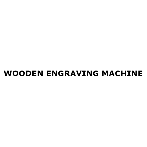Wooden Engraving Machine