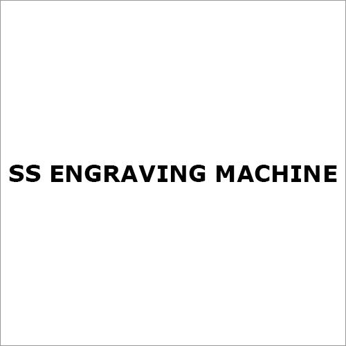 Ss Engraving Machine