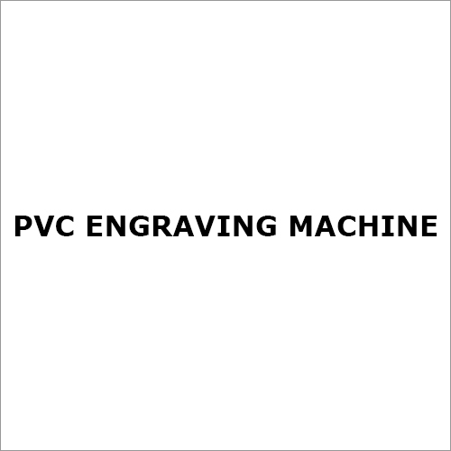 PVC Engraving Machine