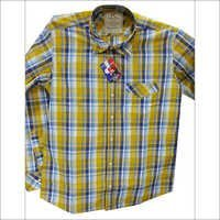 Mens Check Shirt
