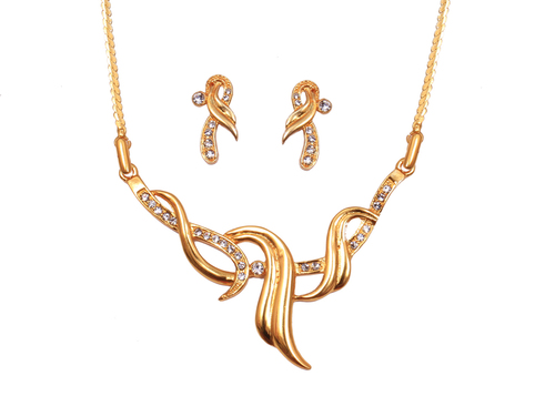 24 Karat Gold Plated Necklace