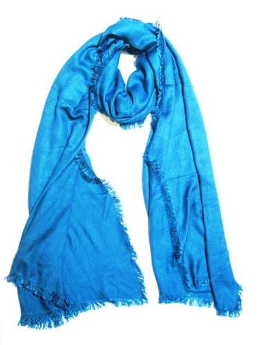 Rayon Solid with Fringes Shawls