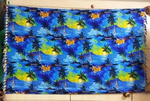 Printed Rayon beach sarongs