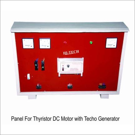 Panel For Thyristoer DC Motor with Techo Generator