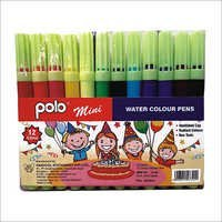 12 Water Colour Pens (Mini)