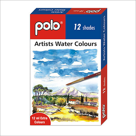 Artists Water Colour 12 Shades