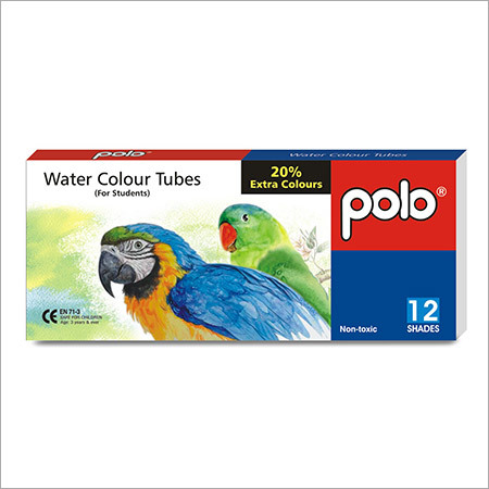Water Colour Tubes 12 Shades