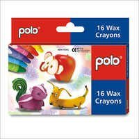 Wax Crayons 16 Colours