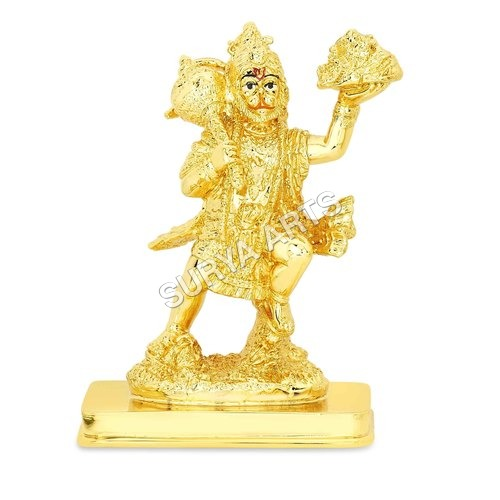 Carrying Mountain Hanuman Statue