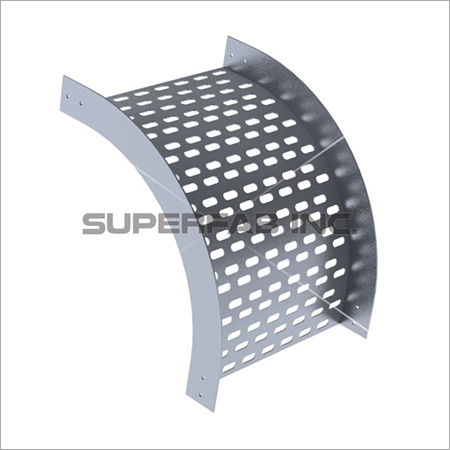 Perforated Tray Vertical Bend Outside