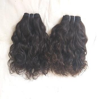 Cuticle Aligned Wavy Human Hair