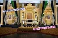 Royal Rajwada Wedding Stage Set