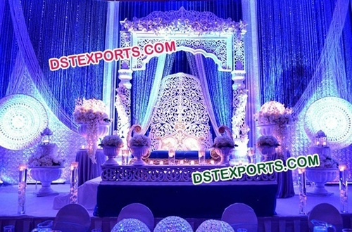 Asian Wedding Mughal Style Wedding Stage