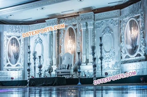 Big Victoria Fiber Event Wedding Stage