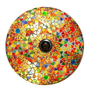 Decorative and Colourful Ceiling Lamp