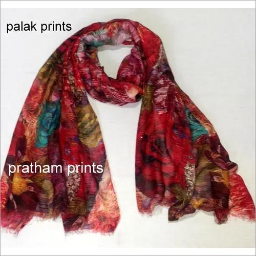 Linen Digital Printed  Scarves