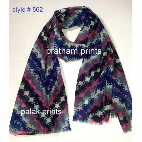 Wool Screen Printing Shawls