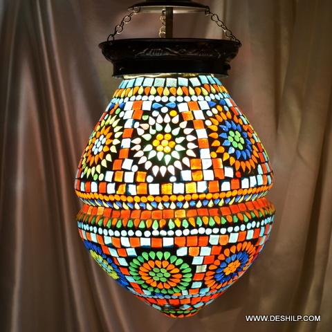 Egg Mosaic Lamp Shade