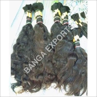 Remy Single Drawn Indian Bulk Hair