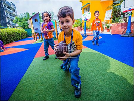 Artificial Grass School Playground