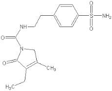 Sulphonamide of Glimipride