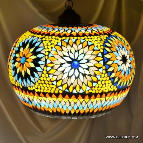 Matka Mosaic Lamp Shade