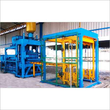 Fully Automatic Concrete Block  -  Brick Machine