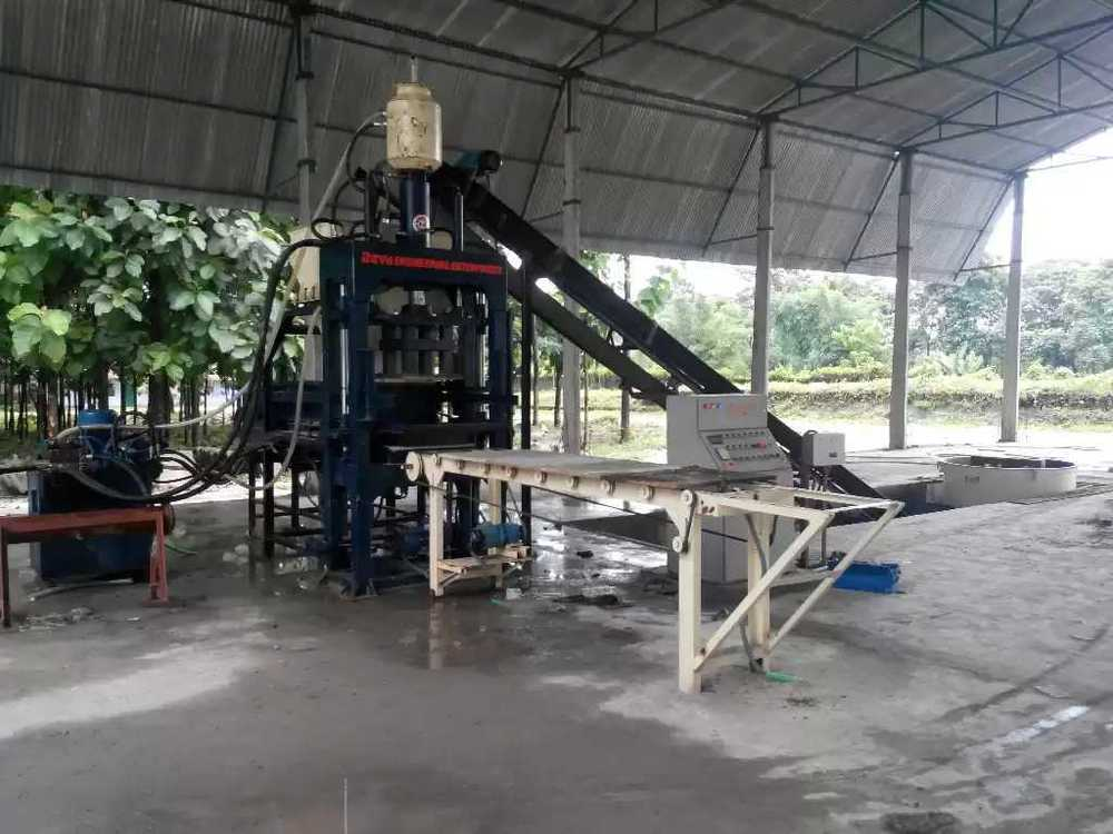 Fly Ash Concrete Brick Making Plant