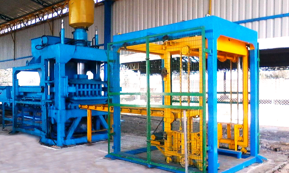 Fly Ash - Concrete Brick Making Plant