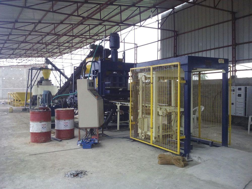 Fully Auto Brick Plant RBM-30 Production Unit