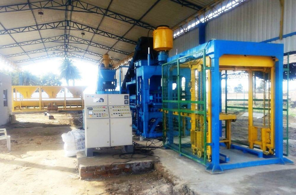 Fully Auto Brick Plant RBM-40 Production Unit