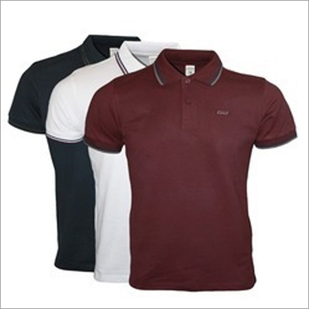 Colored Polo T-Shirt With Piping