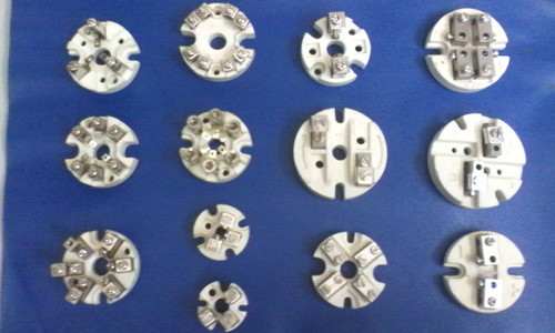 Thermocouple Ceramic Terminal Block with Brass Parts