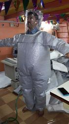 One Piece Chemical Pressure Suit